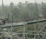 Rollercoaster in Mexico City