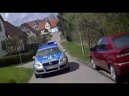 Verfolgungsjagd Polizei vs. Roller – German Scooter Police Chase