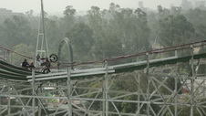 Red Bull Rollercoaster Action in Mexico City