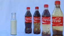Cola Milch Experiment